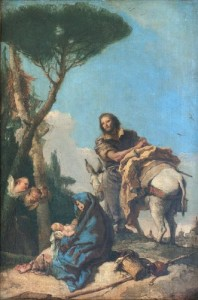 """Rest on the Flight into Egypt"""