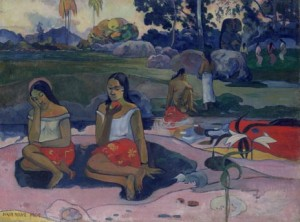 Paul Gauguin, Sacred Spring: Sweet Dreams (Nave Nave Moe), 1894